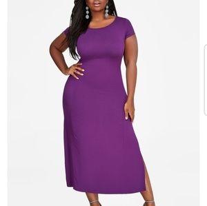 Cap Sleeve Maxi Dress